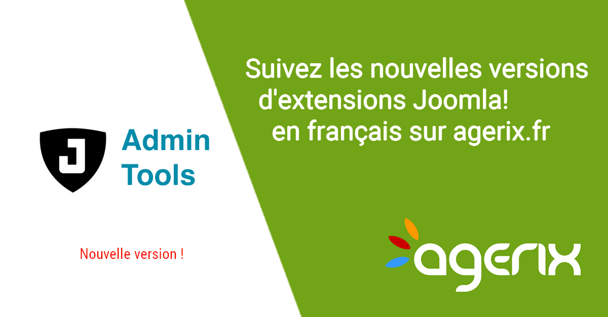 Admin Tools : pour sécuriser son site Joomla Wordpress