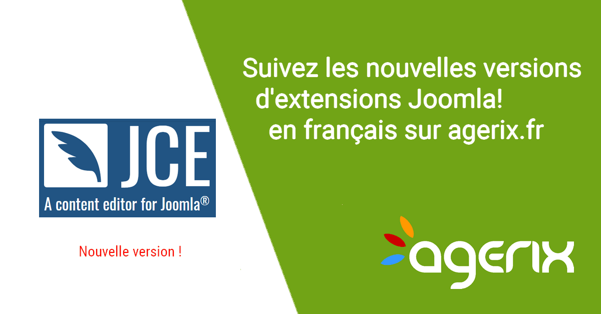 JCE pro 2.6.24, note de version en français