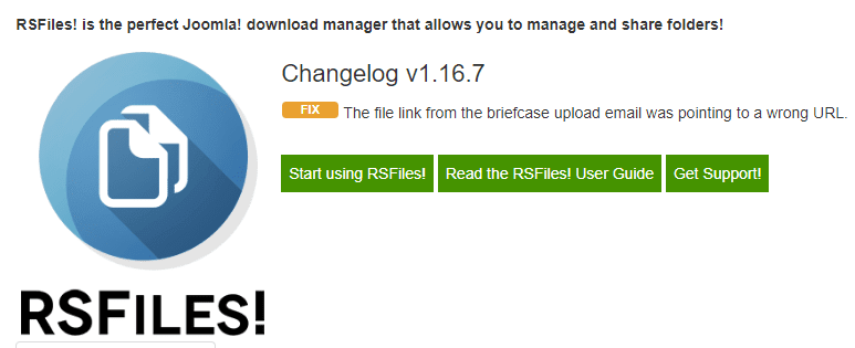 RSFiles! Version 1.16.7