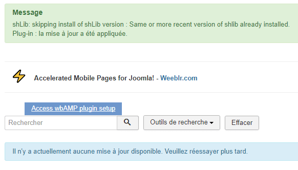 wbAMP Joomla Version 1 11 0