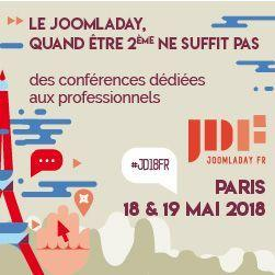 JoomlaDay Paris 2018
